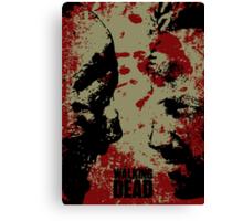 The WALKING DEAD - Rick vs Walkers Canvas Print