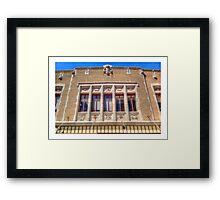 Fligelman's Department Store Facade Framed Print