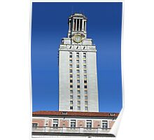 UT Clock Tower Poster