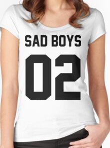 Yung Lean Sad Boys 02 Women's Fitted Scoop T-Shirt