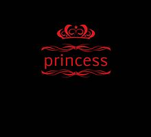princess & crown 1 by sabrina card