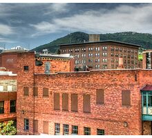 View of Mt. Ascension from Downtown Helena by Sue Morgan