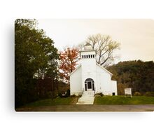 ROSEWOOD COMMUNITY CHURCH II Canvas Print