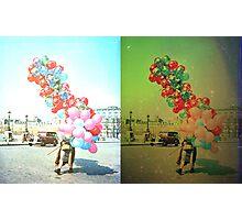 Speech Balloons Photographic Print