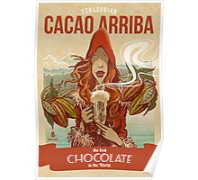Cacao Arriba Poster