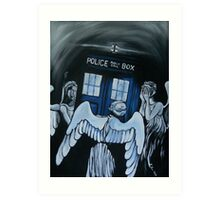 The Angels Have the Phone Box Art Print
