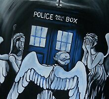 The Angels Have the Phone Box by lissyleem