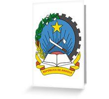 Angola Coat of Arms Greeting Card