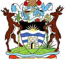 Antigua and Barbuda Coat of Arms  by abbeyz71