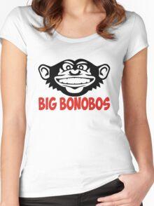 Big Bonobos T-shirt Women's Fitted Scoop T-Shirt