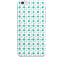 Background Green Flowers  iPhone Case/Skin