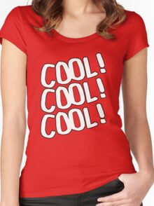 Cool! Women's Fitted Scoop T-Shirt