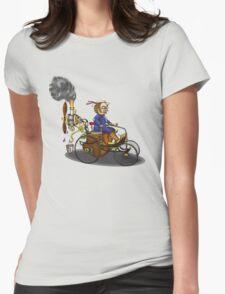 Steampunk vintage Peugeot style car T-Shirt