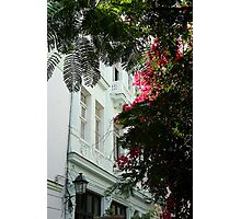 Cuban facade Photographic Print