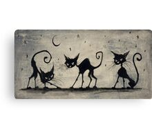 Cat Magic Canvas Print
