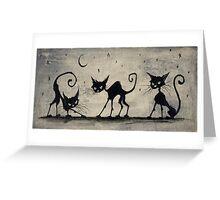 Cat Magic Greeting Card