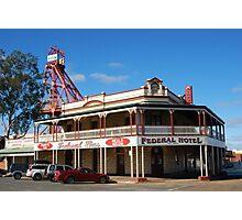 Federal Hotel Kalgoorlie Photographic Print