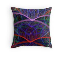 All Mixed Up Throw Pillow