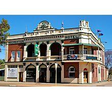 Recreation Hotel Boulder Western Australia Photographic Print
