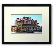 Metropole Hotel Boulder, WA Framed Print