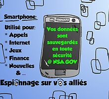 NSA sauvegarde smartphone comique by Binary-Options