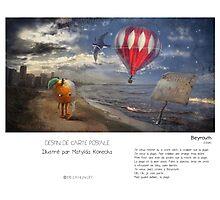 """Beyrouth"" en Mots & Image (M.Konecka) Photographic Print"