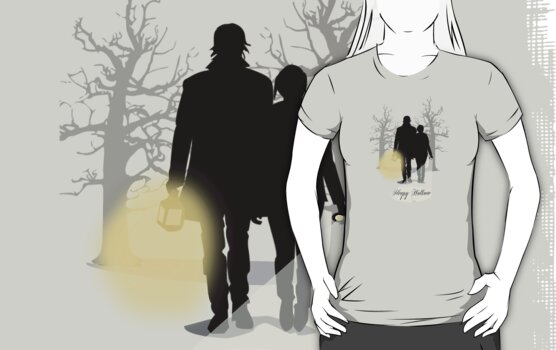Sleepy Hollow T-Shirt by Sarah  Mac