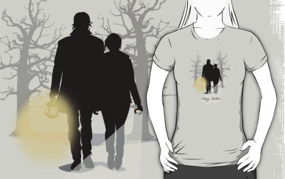 Sleepy Hollow T-Shirt by Sarah  Mac