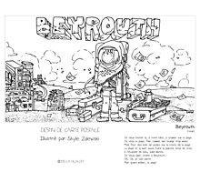 """Beyrouth"" en Mots & Image (S.Zalewski) Photographic Print"
