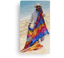 Seaside Shawl Canvas Print