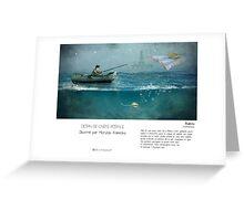 """Bakou"" en Mots & Image (M.Konecka) Greeting Card"