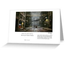 """Brooklyn"" en Mots & Image (M.Konecka) Greeting Card"