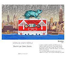 """Brooklyn"" en Mots & Image (Denis Dubois) Photographic Print"