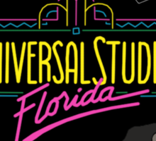 Retro Universal Studios Sticker