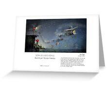"""Le Cap"" en Mots & Image (M.Konecka) Greeting Card"