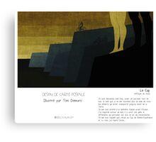 """Le Cap"" en Mots & Image (Toni Demuro) Canvas Print"