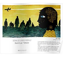 """""""Le Cap"""" en Mots & Image (Tarmasz) Poster"""
