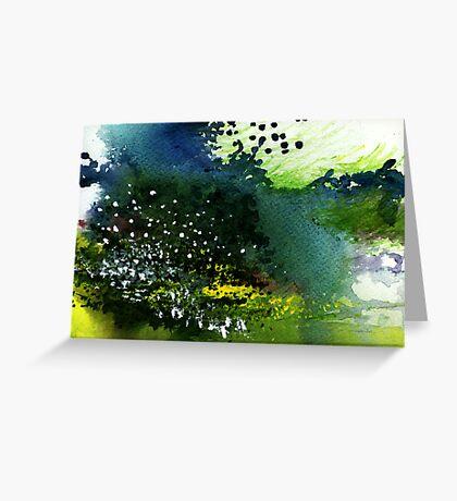Light Music Greeting Card