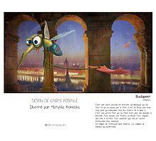 """Budapest"" en Mots & Image (M.Konecka) Photographic Print"