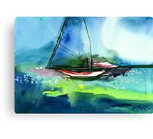 Sailing 2 Canvas Print