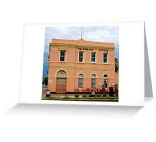 Telegraph Office - Boulder W.Australia Greeting Card