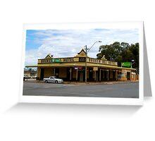 Broken HIll Hotel - Boulder Western Australia Greeting Card