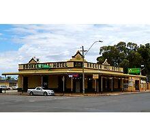 Broken HIll Hotel - Boulder Western Australia Photographic Print