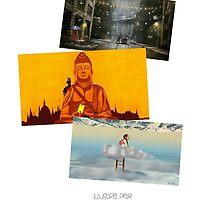 12 destinations - 12 mois - 6 artistes en version Française by Eric Tchijakoff