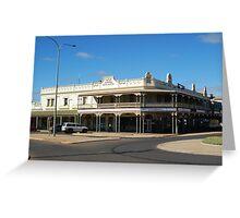 Cohn's Building Kalgoorlie Greeting Card