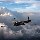 Vickers Wellingtons with 16 OTU by Gary Eason + Flight Artworks