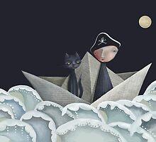 The Pirate Ship by fizzyjinks