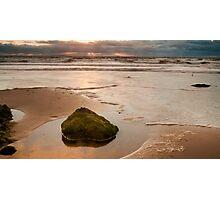 Sunset Shining Photographic Print