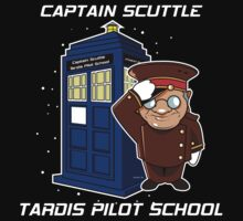 Captain Scuttle Tardis by spikeani