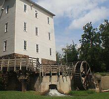 The Grist mill  by Leann  Rardin